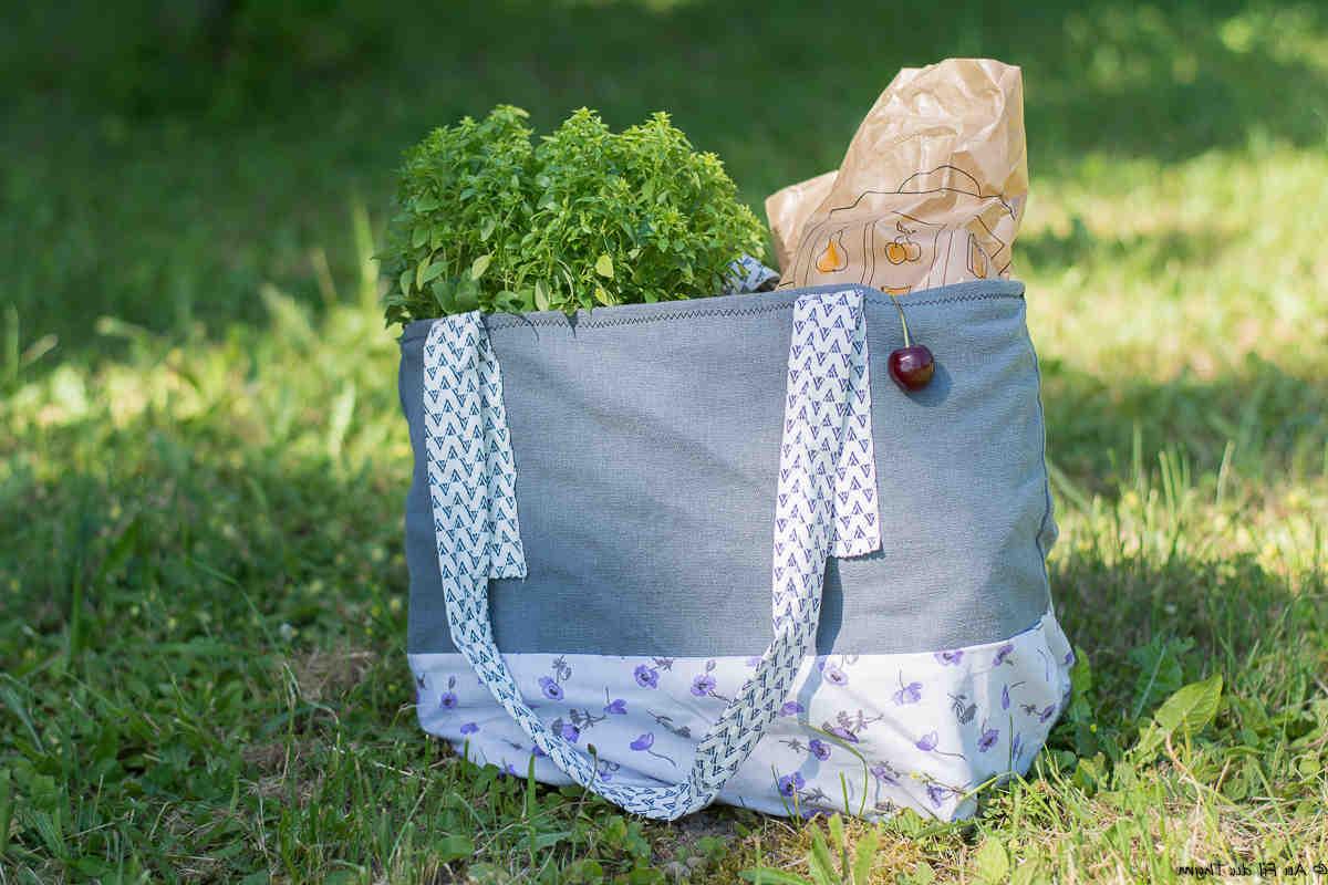Comment faire un sac en tissu solide?